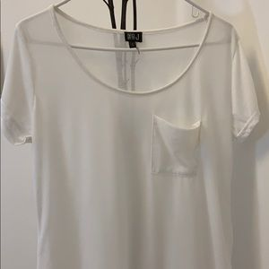 NWOTLight short sleeve white tee